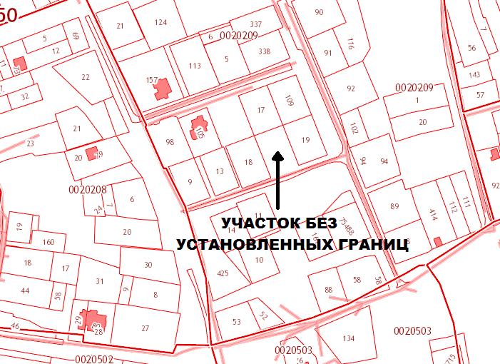 Местоположение участка