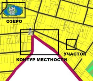 Расположение участка на Ген.плане